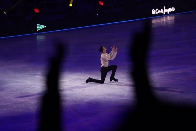 Javier Fernández en el espectáculo Revolution On Ice