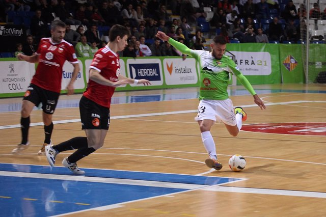 Palma Futsal abre la segunda vuelta con su tercera derrota seguida