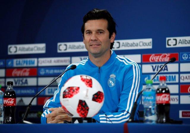 Santiago Solari (Real Madrid) en el Mundial de clubes