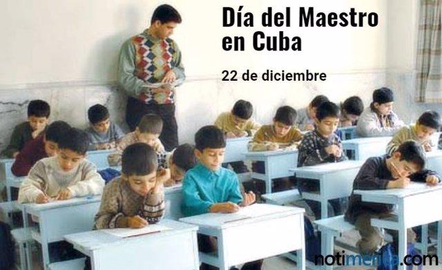 Día del Maestro en Cuba