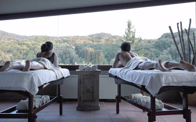 Spa hotel rural Mas Salagros