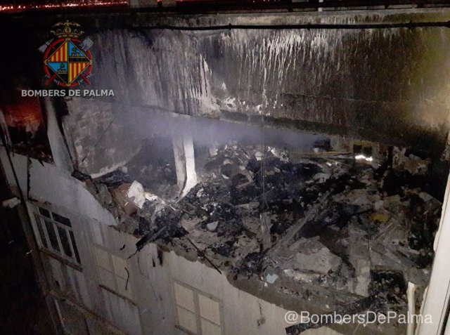 Incendio en Palma