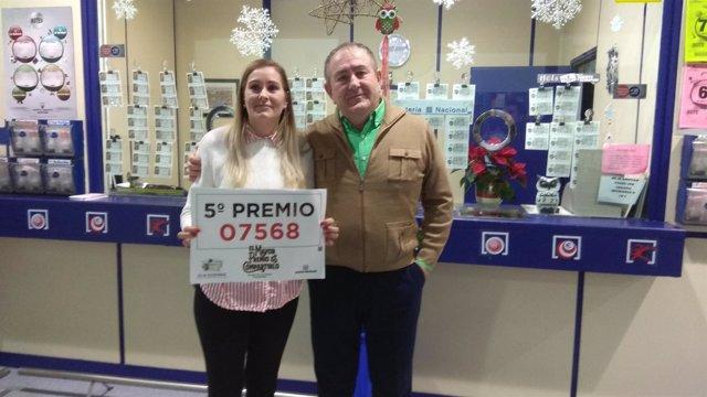 Quinto premio del Sorteo de Navidad vendido en Ciudad Real