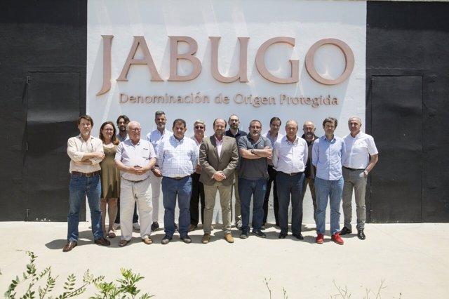 Nueva junta directiva de la DOP Jabugo.