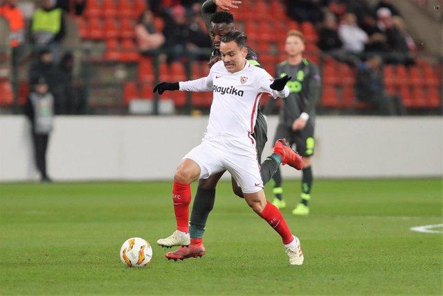 FOOTBALL - UEFA EUROPA LEAGUE - STANDARD LIEGE v SEVILLA FC