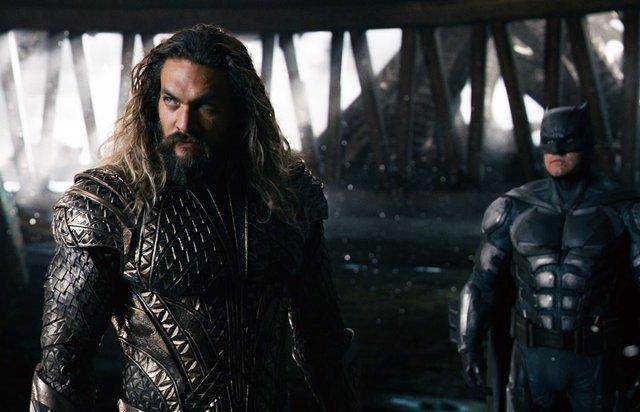 Aquaman y Batman en Liga de la Justicia