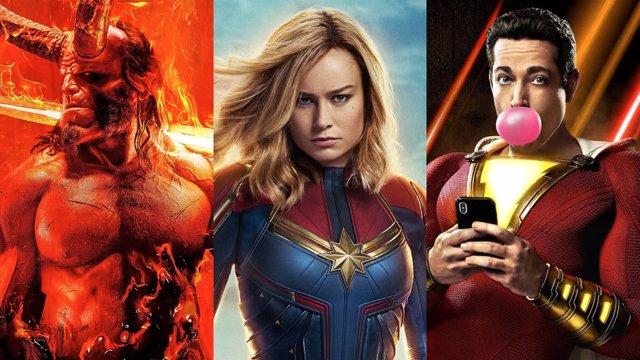 Las películas de superhéroes de 2019