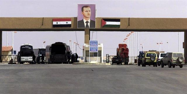 Cruce de Al Tanf entre Siria e Irak