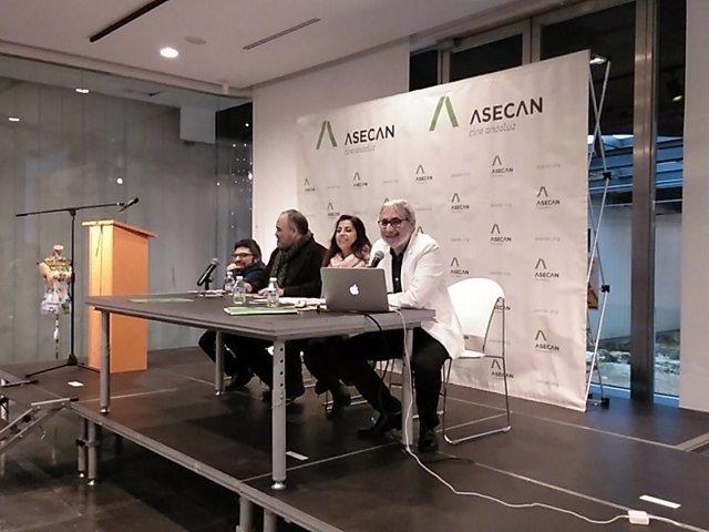 Lectura de nominaciones de los premios Asecan