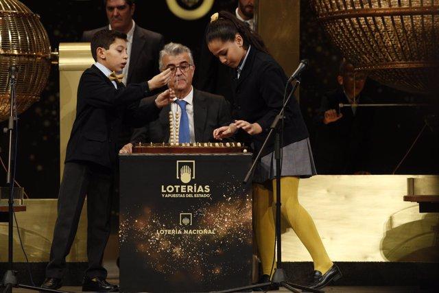 Celebración del Sorteo Extraordinario de la Lotería de Navidad 2018