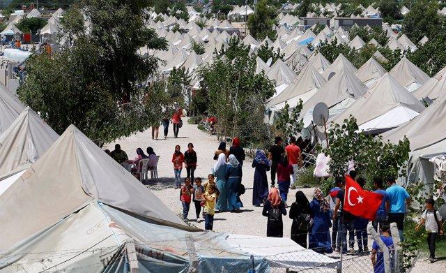 Campo de refugiados sirios en Osmaniye (Turquía)