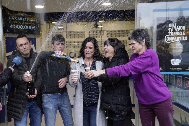 Gordo de la Lotería de Navidad en el concello de Teo, A Coruña