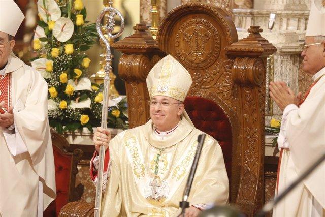 Francisco Jesús Orozco Mengíbar en su ordenación como obispo de Guadix