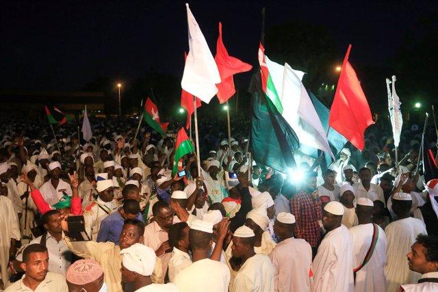 Protestas en Sudán - diciembre de 2018