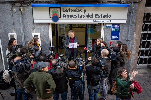 Segundo Premio del Sorteo de Navidad en Castellbisbal, Barcelona