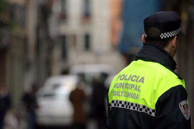 Policía Municipal de Pamplona.