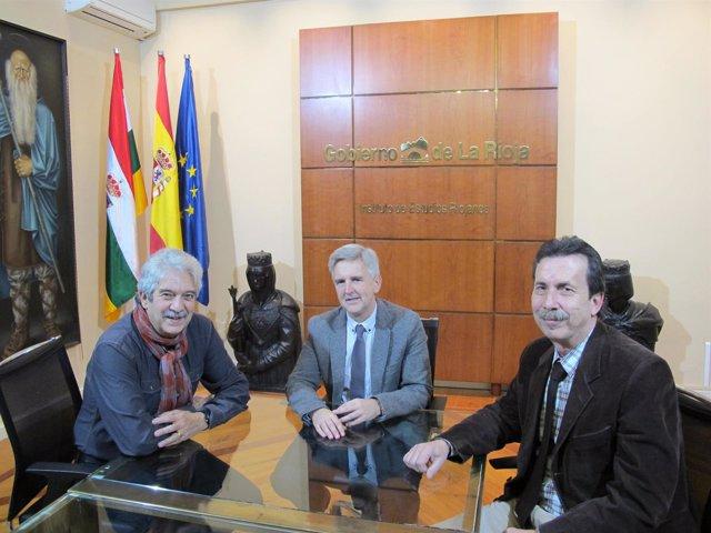 Encuentro Osés con Purón y Pascual Banco Alimentos