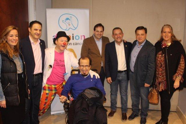 Paco Núñez con Afanion en Albacete
