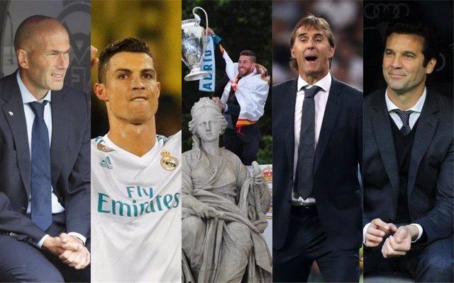 Resumen fotográfico del año 2018 en el Real Madrid