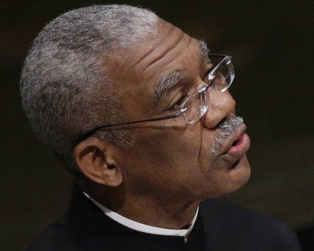 El presidente de Guyana, David Arthur Granger