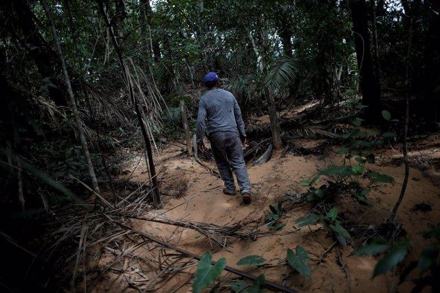 Campesino en Brasil