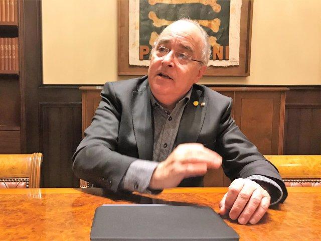 El conseller de Educación, Josep Bargalló