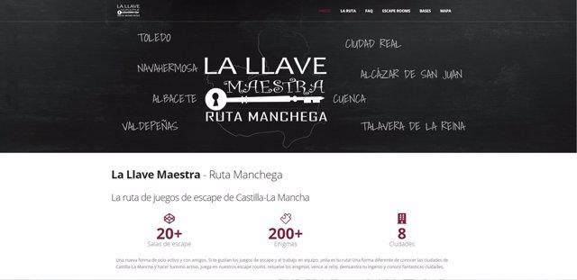 Web de la Llave Maestra-Ruta Manchega