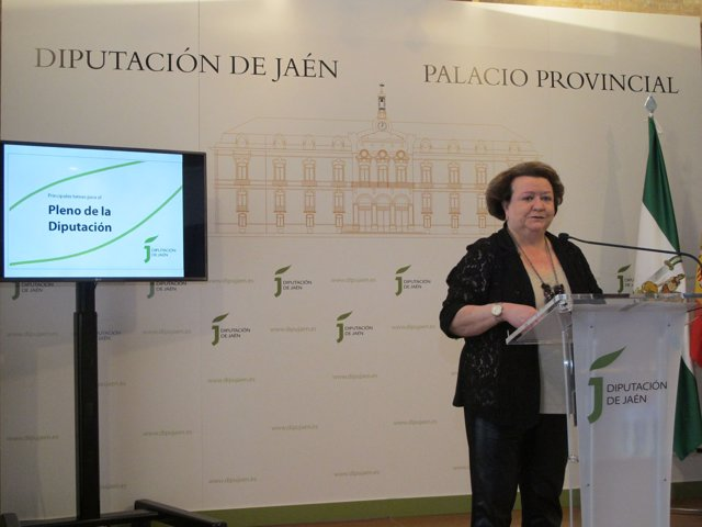 La vicepresidenta de la Administración provincial, Pilar Parra