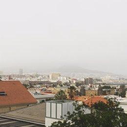 Calima en Las Palmas de Gran Canaria