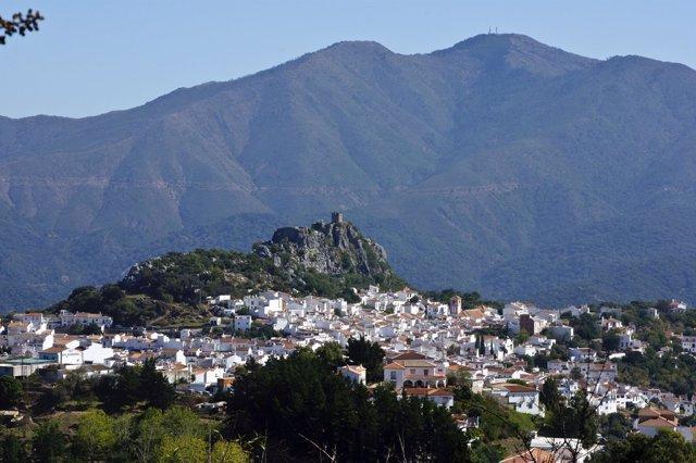 Gaucín pueblo blanco málaga provincia montaña municipio castillo