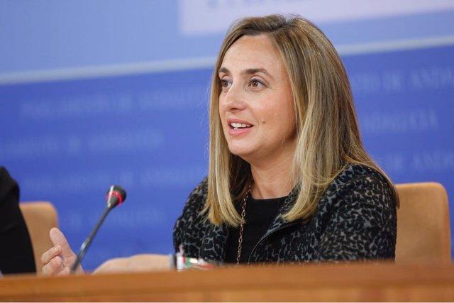 La parlamentaria andaluza del PP Marifrán Carazo