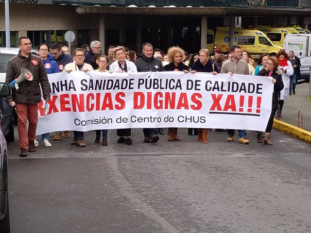 Jefes de servicio del CHUS critican la huelga de urgencias y avalan el