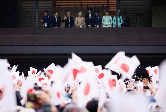 Cumpleaños del emperador Akihito, diciembre de 2018