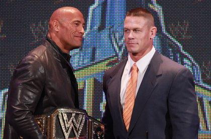"""John Cena pide perdón a Dwayne Johnson: """"Estaba equivocado"""""""