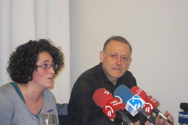 Foto de archivo del dirigente de Podemos en Euskadi, Roberto Uriarte