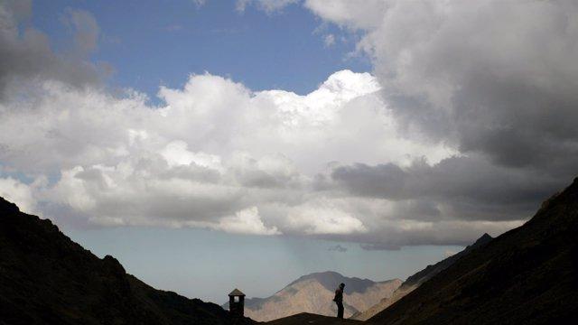 Valle Tubkal, en el Atlas marroquí