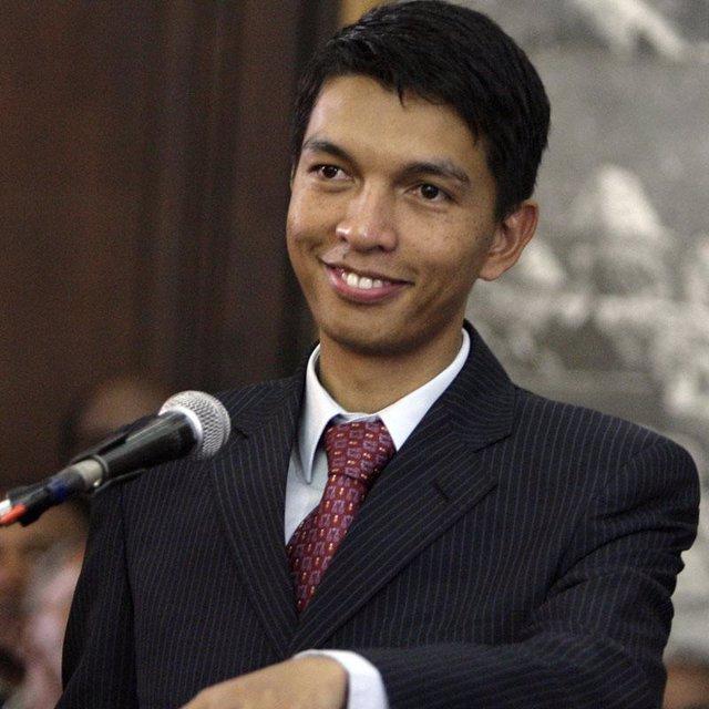 Andry Rajoelina, en una imagen de archivo de 2009