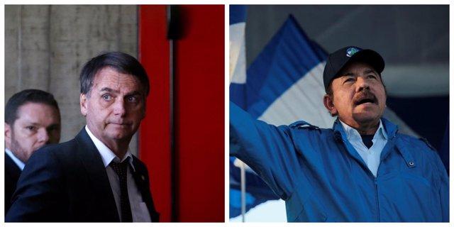 Bolsonaro y Ortega