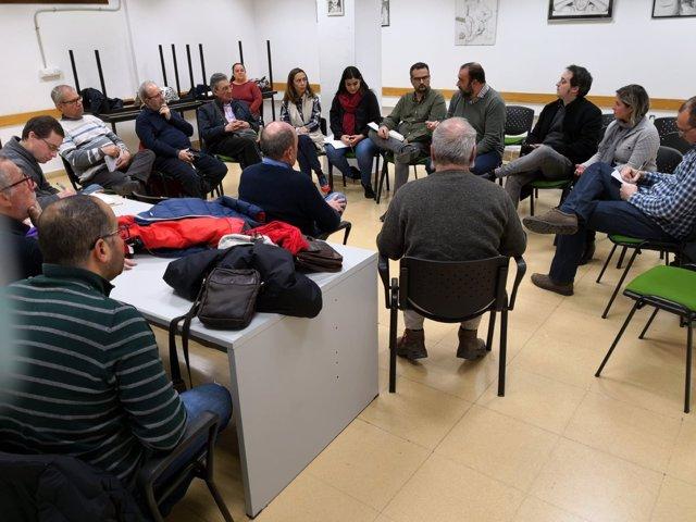 Encuentro de 'Granada se encuentra' en La Chana
