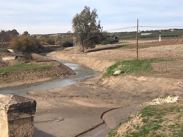 Finalizada la adecuación y restauración del cauce del río Corbones