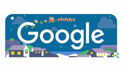 Felices fiestas 2018: Google celebra la Navidad con la llegada de Papá Noel en su 'doodle'