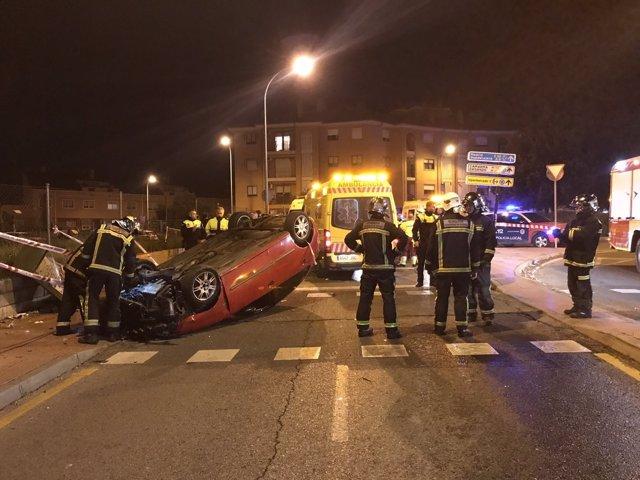 Accidente en Alcalá de Henares