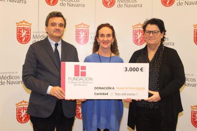 Rafael Teijeira, Marga Iraburu y Julia Alonso.