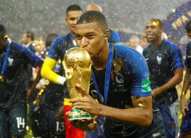 Kylian Mbappé, campeón del mundo con Francia