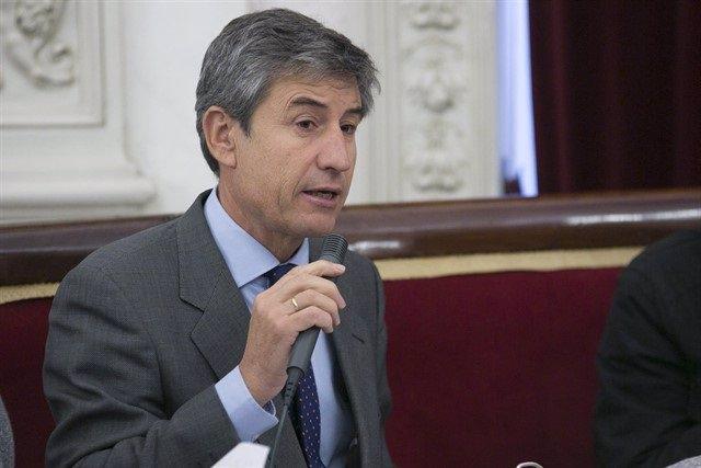 El portavoz de Cs en el Ayuntamiento de Cádiz, Juan Manuel Pérez Dorao