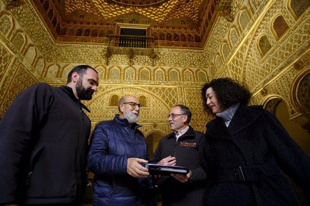 Nueva iluminación en el Alcázar