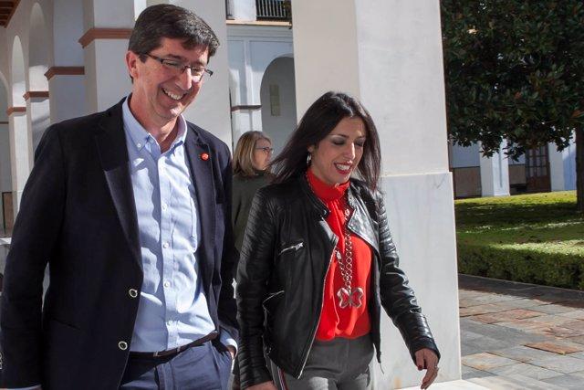 Juan Marín en el Parlamento