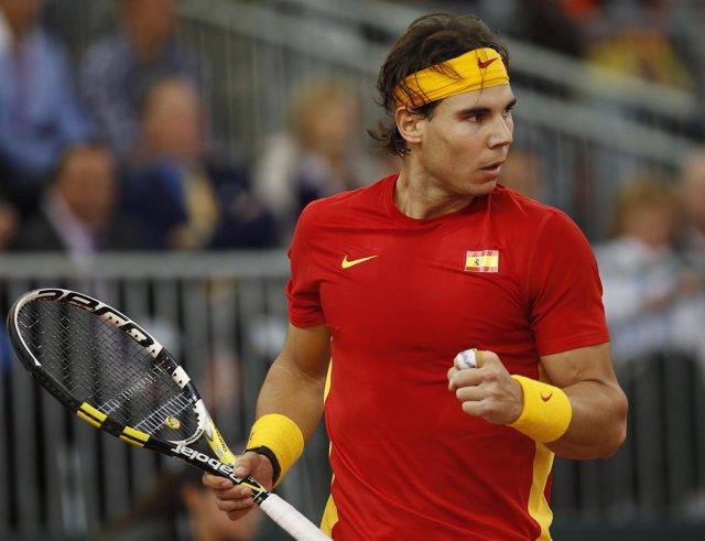 Rafa Nadal en Copa Davis