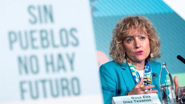 La vicepresidenta de Cantabria, Eva Díaz Tezanos, habla sobre reto demográfico