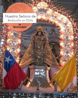 Nuestra Señora de Andacollo en Chile